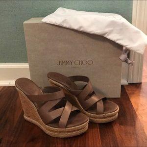 Jimmy Choo Prisma Sandal Wedge